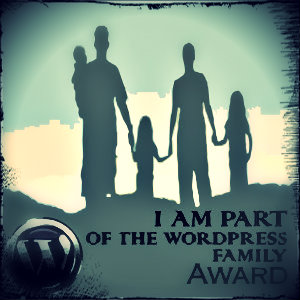 I am part of the wordpress family award1