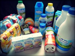 Productos central lechera Asturiana