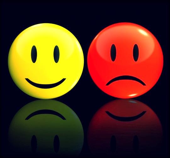cara feliz cara triste