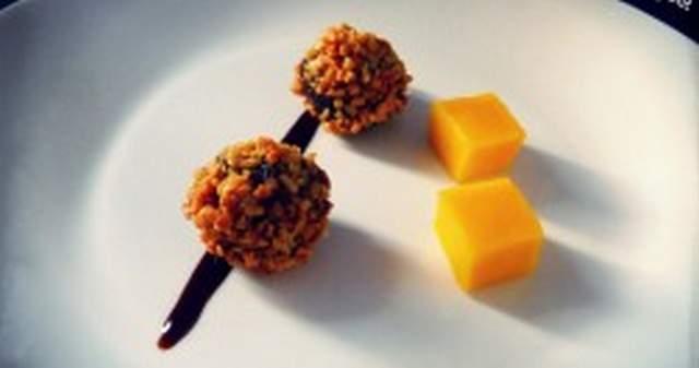 Bombones de morcilla recetasbonappetit