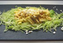 Ensalada verde de pollo y manzana