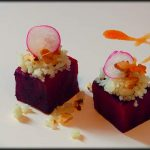 Ensalada de remolacha y coliflor