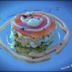 Ensaladilla de salmón ahumado