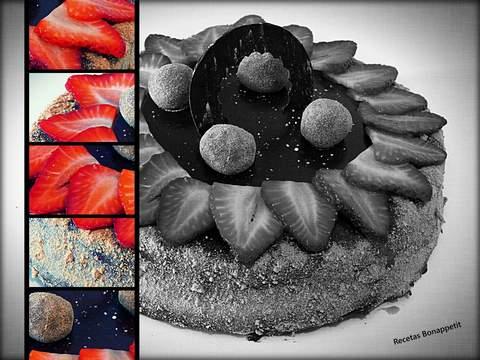Tarta de fresas by Recetas Bonappetit
