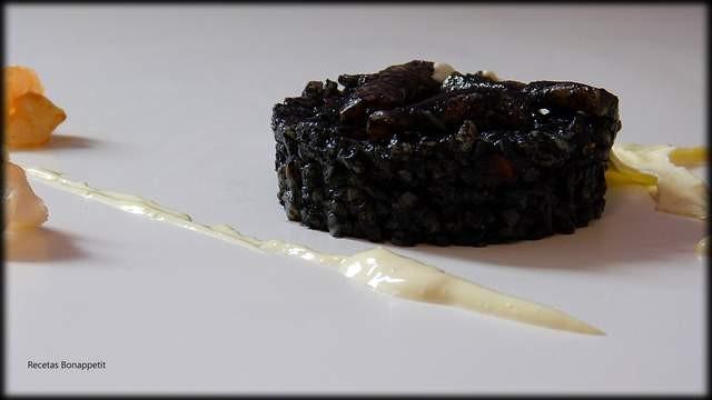 receta de Arroz negro recetas bonappetit