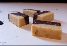 Turrón de dos chocolates y almedras