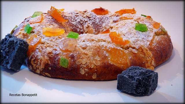 Roscón de Reyes recetas bonappetit