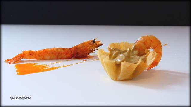 pasta filo de langostinos y mejillones recetasbonappetit