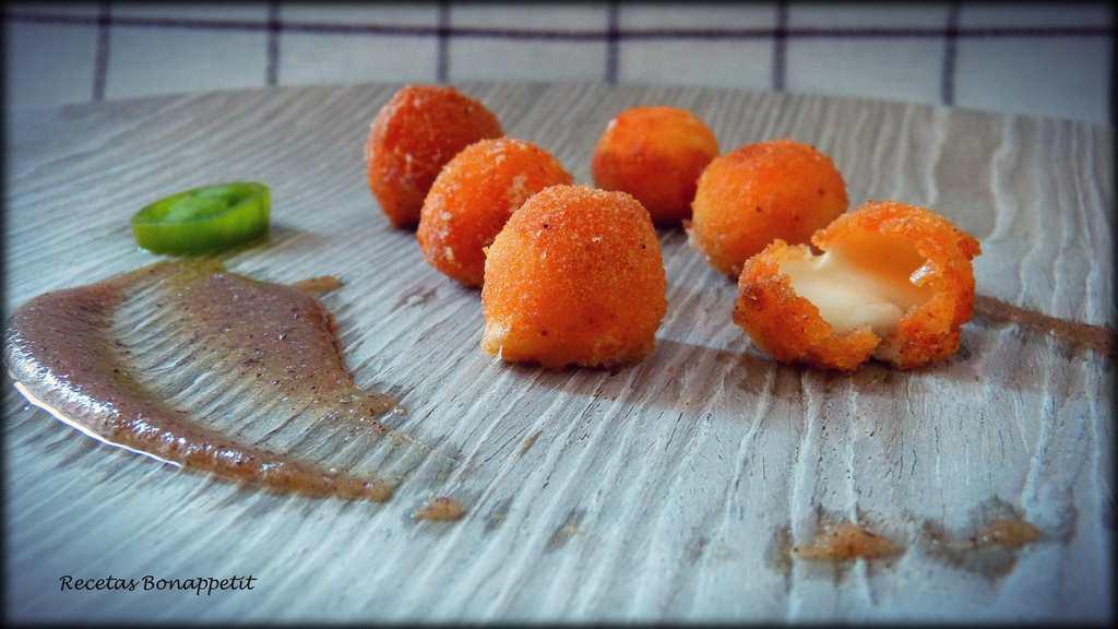 Bolitas de queso Mozzarella