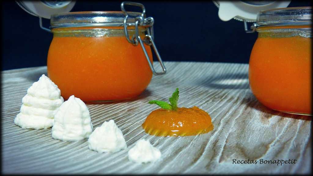Mermelada de calabaza y naranja