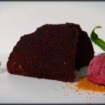 Brownie de chocolate y galleta