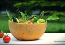 Ensalada de melón y aguacate
