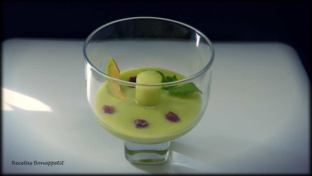 Sopa de melón